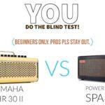 Positive Grid Spark Amp Vs Yamaha Thr