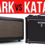 Positive Grid Spark VS Boss Katana